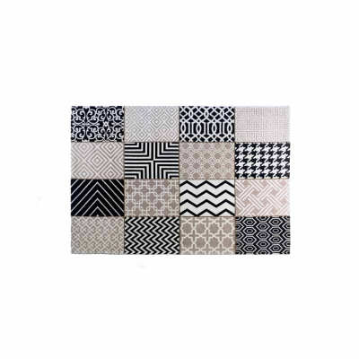 Alfombra vintage patchwork